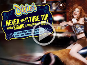 See Video: Dixie's Never Wear a Tube Top While Riding a Mechanical Bull
